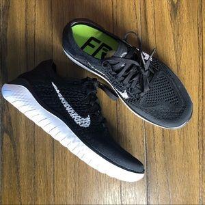 Nike Free Flyknit black sneakers tennis shoes